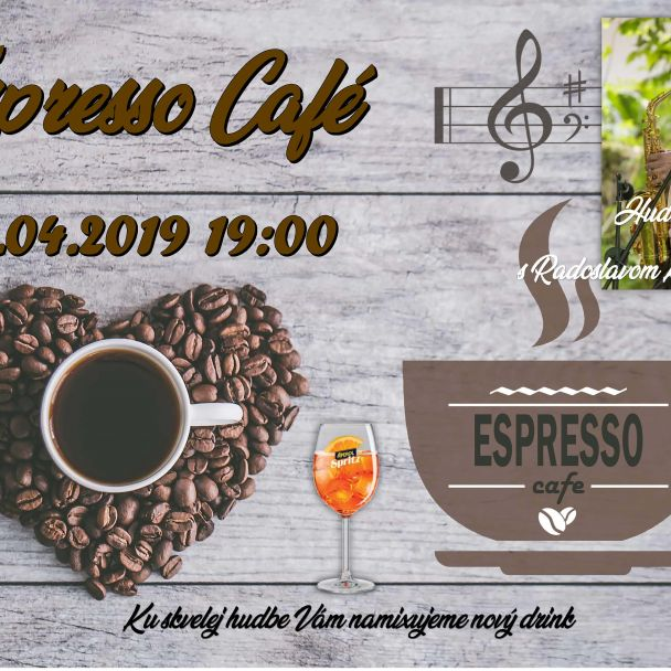 Hudobný večer v Espresso Café