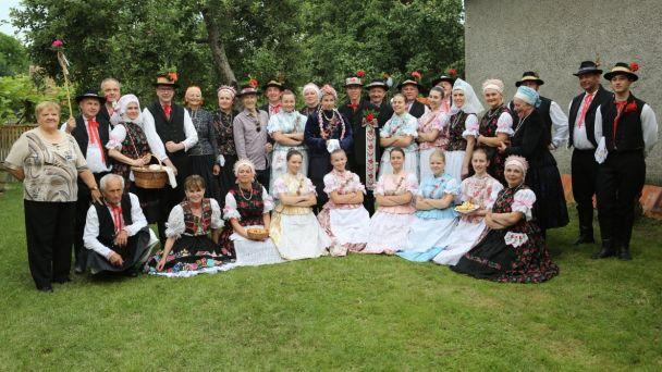 Slovenský deň kroja v Kozárovciach